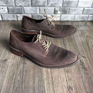 Cole Haan men's brown suede Oxford shoes c11853